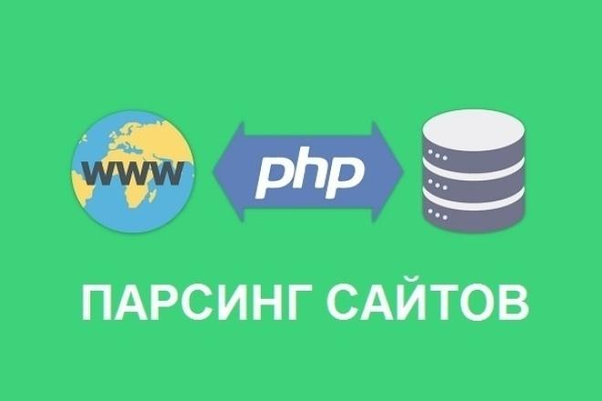 Парсинг сайтов в формат CSV, XLS, TXT, XML 1 - kwork.ru