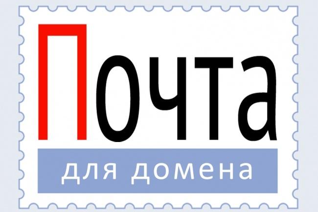 Подключу корпоративную почту к домену 1 - kwork.ru