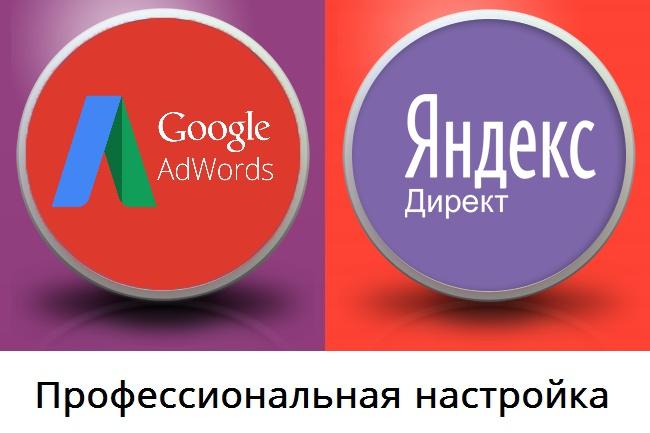 Яндекс Директ, Гугл Адвордс. Заголовки по 56 символов.100 объявлений 1 - kwork.ru