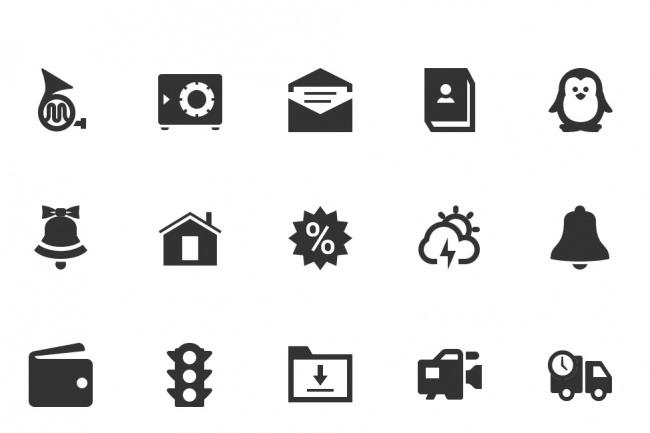 Иконки для сайта или приложения 1 - kwork.ru