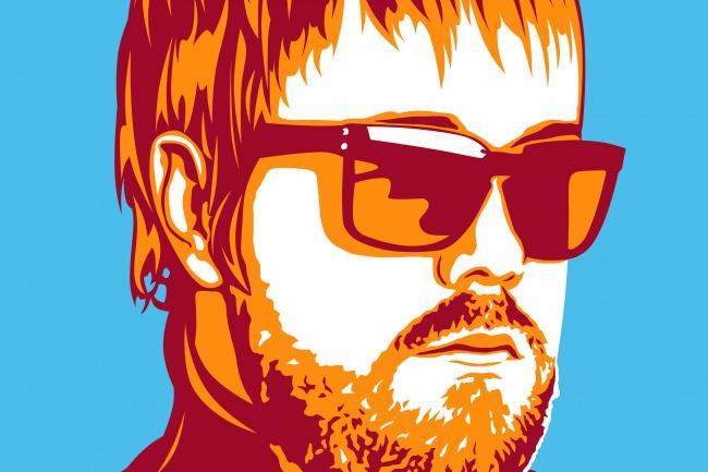 Портрет в стиле поп-арт 1 - kwork.ru