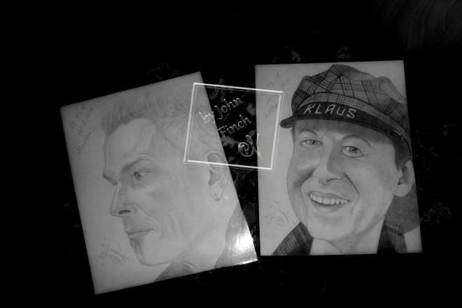 Нарисую Ваш портрет карандашом 1 - kwork.ru