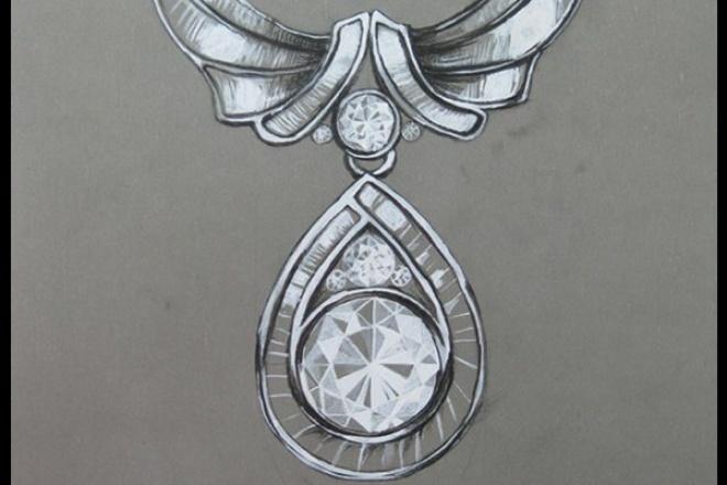 Нарисую одно украшение на заказИллюстрации и рисунки<br>Нарисую любое украшение Например: кольцо, ожерелье, Браслет и тд. Все на ваш вкус и цвет, Учту все ваши пожелания и все ваши замечания.<br>