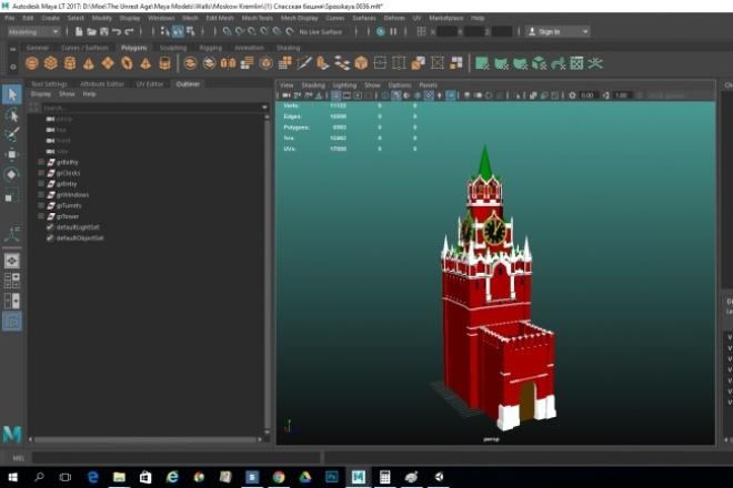 Создам 3D-модельФлеш и 3D-графика<br>Создаю 3D-модели архитектуры, окружения (дома, колодцы, бани, камни, доски, бревна, телеги и т.д.), преимущественно для игр. Возможна оптимизация под мобильные приложения, поиск или создание оригинальных текстур.<br>