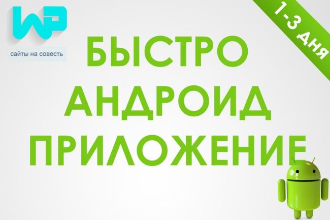 Создам андроид приложение в кратчайшие сроки 1 - kwork.ru