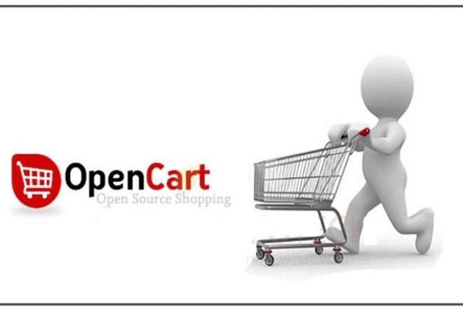 Установка и настройка OpenCart 1 - kwork.ru