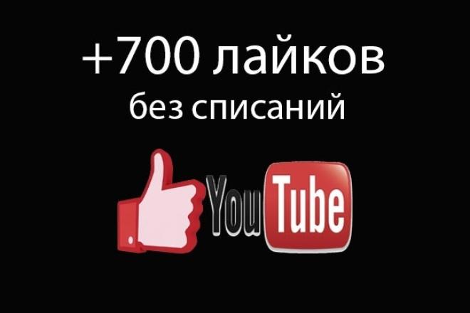 Получи 700 лайков на видео Ютуб (YouTube like) 1 - kwork.ru