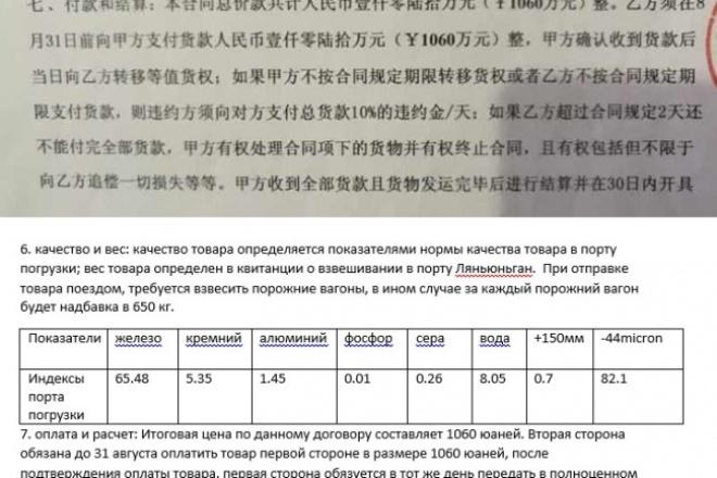 переведу текст китайский>русский 1 - kwork.ru