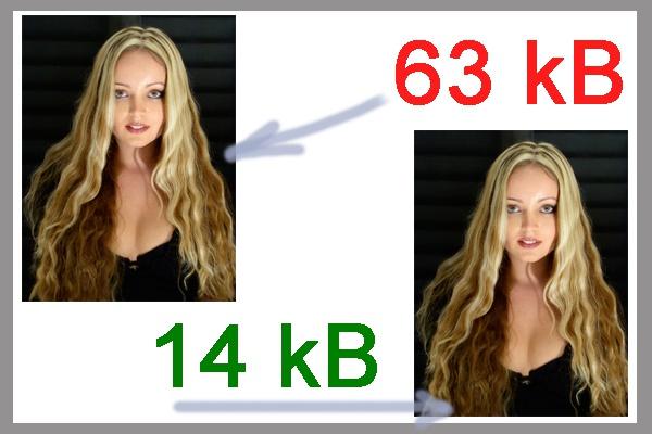 Изменение размера и сжатие изображения 1 - kwork.ru