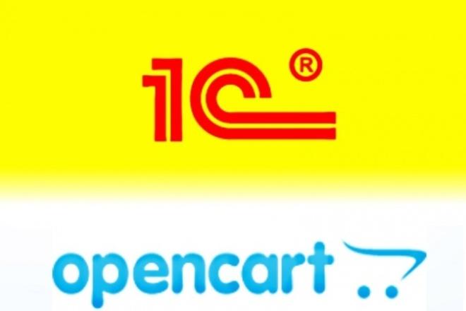 настрою синхронизацию opencart с 1С 1 - kwork.ru