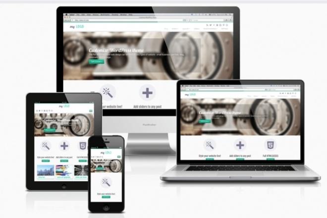 Адаптивный сайт под все устройстваСайт под ключ<br>Создам любой сложности сайт для любого вида предприятия и индивидуальных лиц. Созданные сайты будут адаптированы под всех устройства. Сайты будут созданы в самых популярных CMS такие как WordPress, Joomla и Drupal (На ваш усмотрения) а так же могу создать с нуля под заказ в html, CSS, JavaScript, PHP.<br>