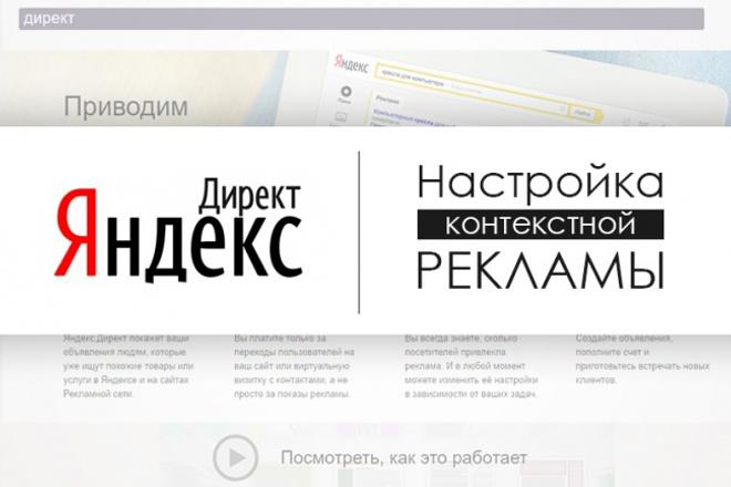 Настройка Яндекс Директ - контекстной рекламы 30 объявлений 1 - kwork.ru