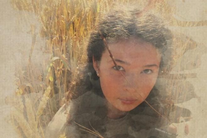Создам 3 фото с эффектом акварельного рисунка 1 - kwork.ru
