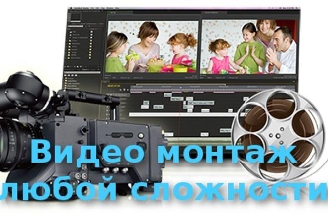 Профессиональный видеомонтаж из ваших фото и видео 1 - kwork.ru
