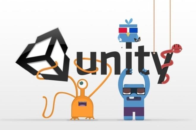 Первое обучение в Unity 5 3D - 2D 1 - kwork.ru
