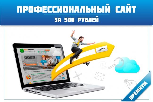 Создам полноценый сайт на вордпресс в краткие сроки (гарант качества) 1 - kwork.ru