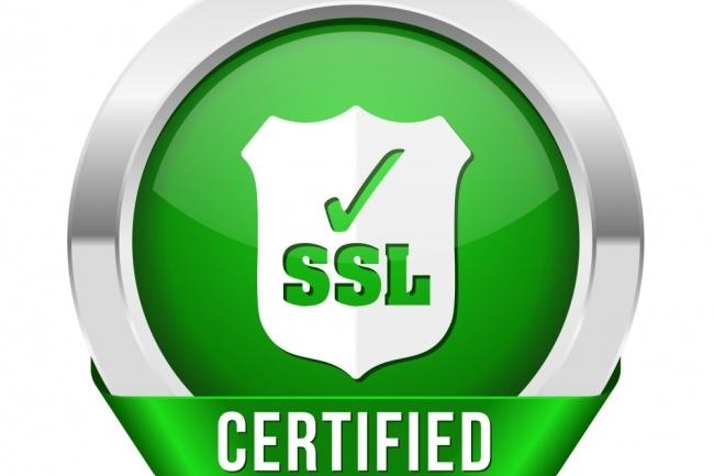 Подключу и настрою SSl сертификат 1 - kwork.ru