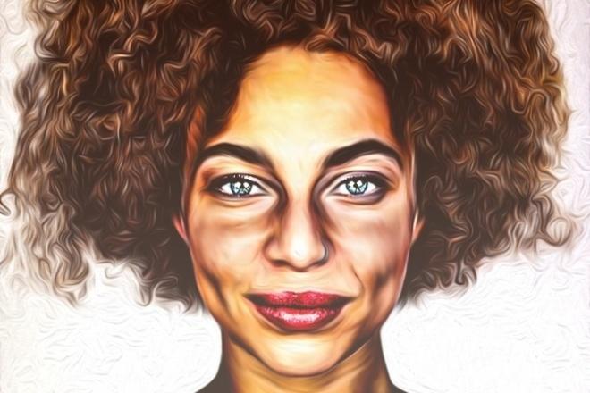 Напишу портрет в стиле Гранж , Нежный Арт, love is в цифровом виде 1 - kwork.ru