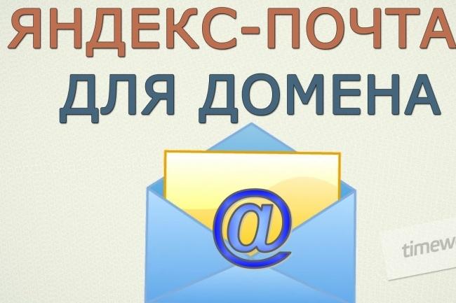 Бесплатно. Яндекс почта для Вашего домена 1 - kwork.ru