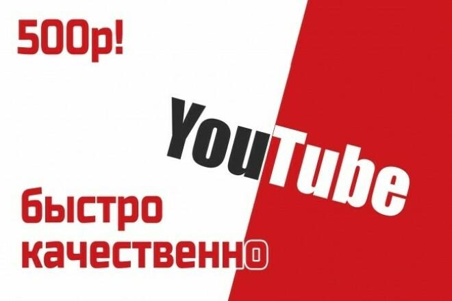 Сделаю полное оформление для вашего канала на youtube 1 - kwork.ru