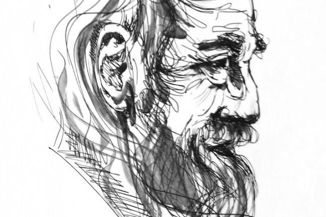 Напишу портрет от руки по фотографии 1 - kwork.ru