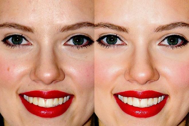Выполню ретушь фотографииОбработка изображений<br>1. Цветокоррекция - яркости, контраста, коррекция света и цвета, подавление шумов на фотографии. Эта так называемая «легкая ретушь» - удаление эффекта красных глаз, а также различных несущественных изъянов кожи; 2. Ретушь - устранение любых изъянов на лице (морщин, мешков под глазами, шрамов, родинок), обработка глаз (изменение цвета глаз, цвета белков, ретушь ресниц), отбеливание и коррекция зубов; 3. Замена фона. Пишите,обсудим :)<br>