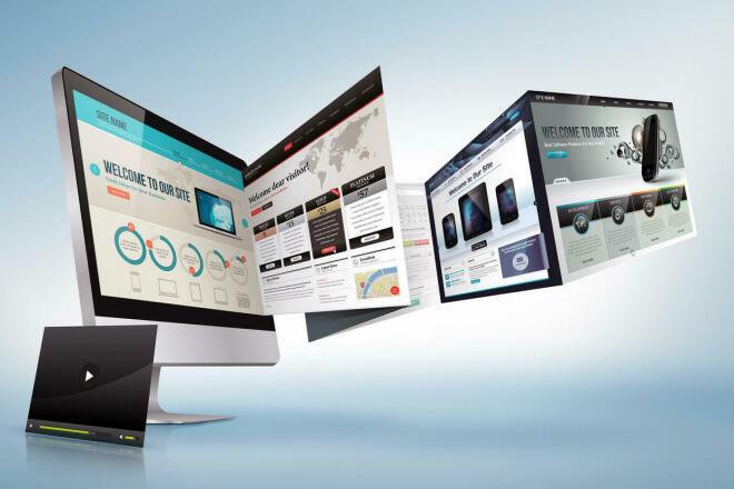 Создам сайт на WordPress, Joomla или обычном HTML 1 - kwork.ru