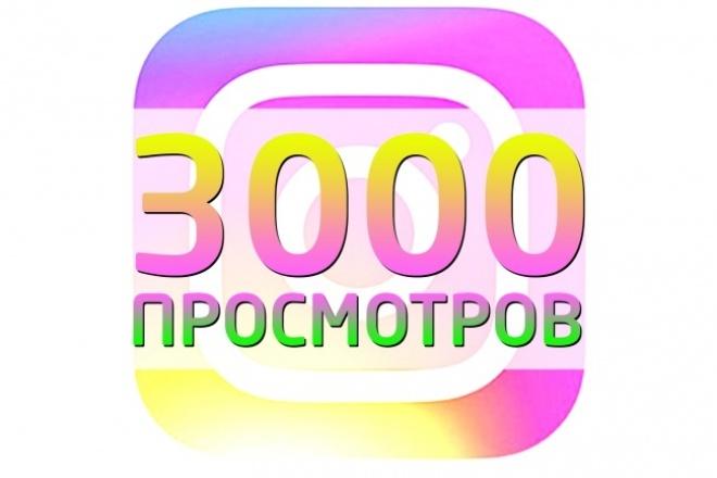 накручу просмотры на инстаграм видео 1 - kwork.ru
