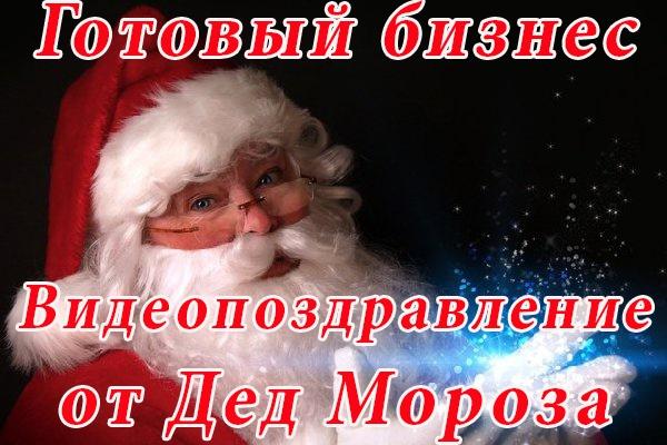 Готовый бизнес видеопоздравлений Дед Мороза 1 - kwork.ru