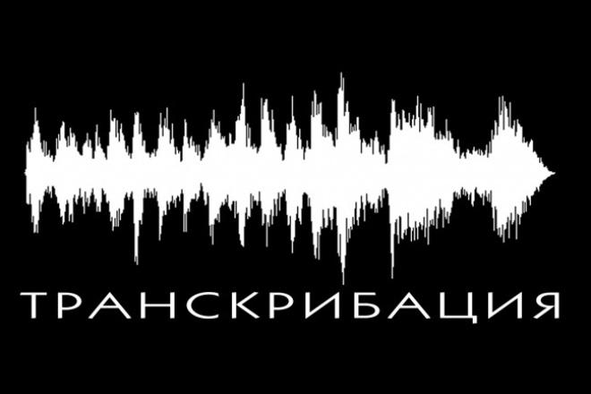 Сделаю транскрибацию аудио или видео 1 - kwork.ru