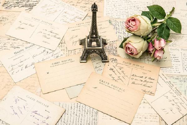 Отправлю почтовую открытку из Парижа 1 - kwork.ru