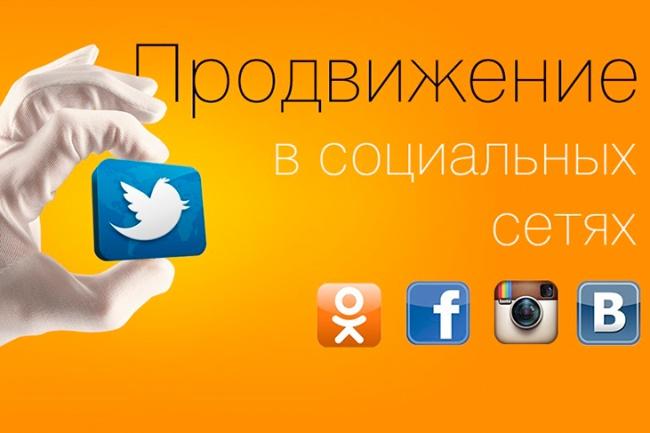 Размещу Ваше объявление в 120 группах социальных сетейПродвижение в социальных сетях<br>Размещу Ваше объявление с фото в 120 группах социальных сетей ( на ваш выбор),с численностью от 10000 человек, с предоставлением отчета в виде ссылок на поданные объявления. Чёткость и исполнительность гарантирую! Бонус! Учитываются пожелания заказчика!<br>