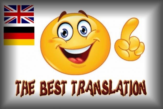 Перевод с английского, немецкого 10 тыс.зн.Переводы<br>Переведу текст с английского или немецкого языка на русский. Сделаю работу в максимально быстрые сроки.<br>