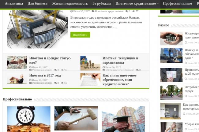Сайт-сателлит под ключ для генерации дешевого трафика. НЕ дорвеи 1 - kwork.ru