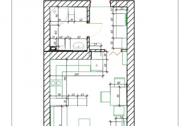 Планировочные решенияМебель и дизайн интерьера<br>Сделаю планировочные решения помещений жилых и нежилых. От вас пожелания, план с размерами изначальный, размеры имеющейся или планируемой мебели, оборудования. 1 кворк планировка до 25 м2, соответственно каждые следующие 25 м2 по 1 кворку, округление в большую сторону.<br>
