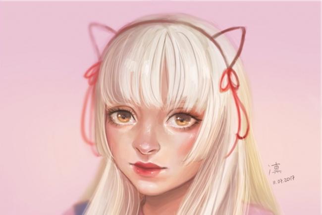 Нарисую арт-портрет 1 - kwork.ru