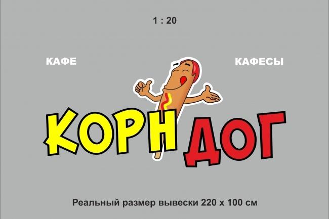 Разрабатываю дизайн-макет вывесок 1 - kwork.ru