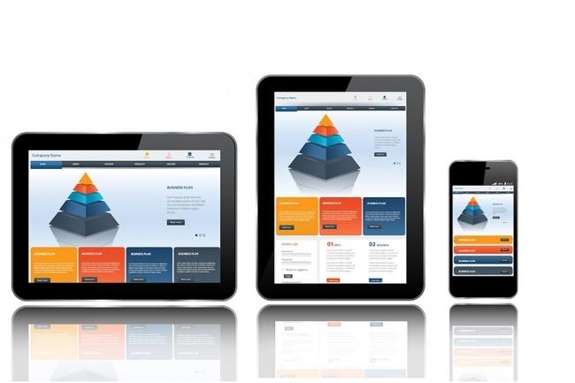 Верстка страницы сайта по psd макету 1 - kwork.ru