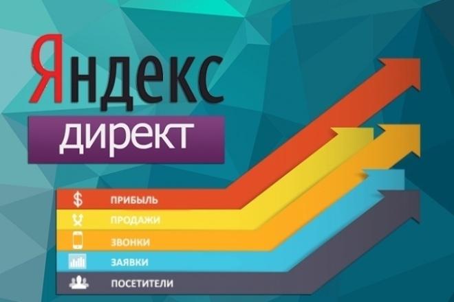 Профессиональная настройка Яндекс. Директ. Поиск, РСЯ. Бонусы 1 - kwork.ru