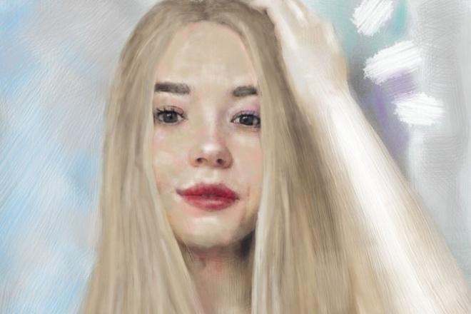 Напишу портрет 1 - kwork.ru