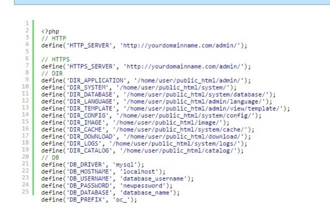 Восстановлю config файлыДоработка сайтов<br>Я восстановлю Ваши config.php файлы при переезде, случайном удалении, неправильном редактировании и т.п. Работаю с такими движками как: -opencart -wordpress -joomla -modx и другие. Пишите, спрашивайте ;) Может и с другими файлами помогу. Делаю в течении пары часов, как подтвердил взятие задания.<br>