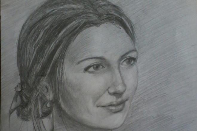 нарисую ваш портрет 1 - kwork.ru