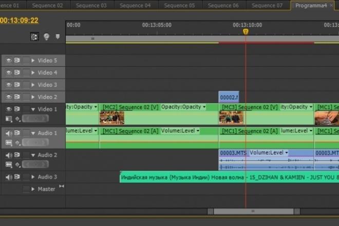 Монтаж вашего видеоматериалаМонтаж и обработка видео<br>Занимаюсь профессиональным видеомонтажём более 5 лет, работаю на местном телеканале режиссёром видеомонтажа. Работаю в Adobe Premiere. Смонтирую ваши видеофайлы в единый готовый ролик. Цветокоррекция в подарок. Быстро и качественно.<br>