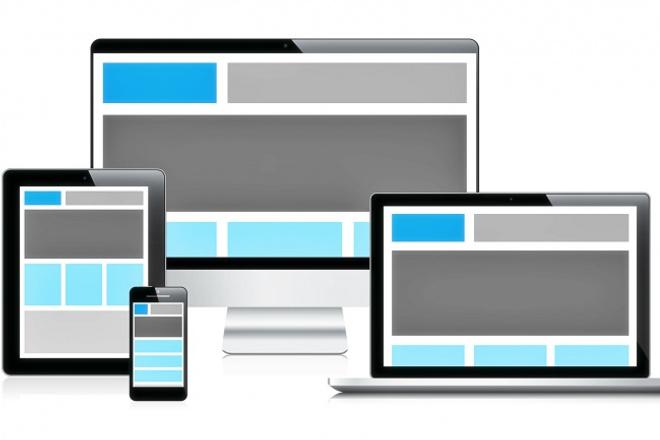 Адаптив сайта под мобильные устройстваВерстка и фронтэнд<br>Делаю адаптацию Вашего сайта под мобильные устройства, Некоторые примеры: http://btvn.ru , http://pbbd.ru, http://al99.ru, klin3952.ru , http://rek39k.ru, http://tecspb.ru, http://mebelmassiv76.ru Сроки выполнения от 1 до 7 дней, зависит от сложности.<br>