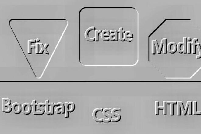 сделаю сайт на платформе Bootstrap 1 - kwork.ru