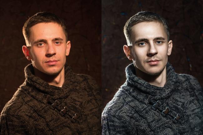 Портретная ретушь 1 - kwork.ru