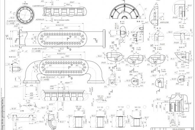 Выполню чертежи в Компас-3D, AutoCad 1 - kwork.ru
