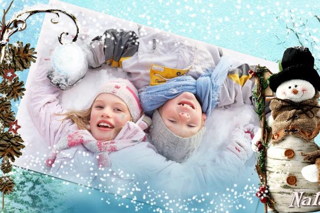 Слайд-шоу для зимних детских фотографий Скоро Новый год придётСлайд-шоу<br>Красивое слайд-шоу для детских зимних фотографий с анимационными эффектами и видеофрагментами из мультфильмов - 25 фотографий и 1 мелодия, длительность 3 мин. (это 2 кворка - 1000 руб) Буду рада постоянным клиентам и благодарна, если Вы поделитесь этой страницей со своими друзьями и знакомыми в соц. сетях! Всегда открыта к сотрудничеству!<br>
