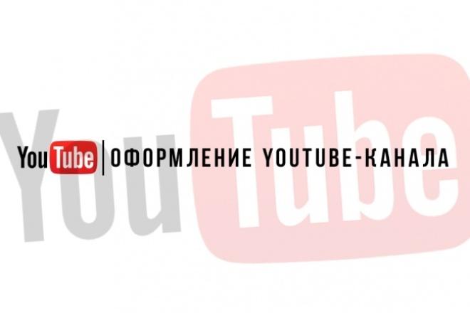 Оформлю YouTube-канал 1 - kwork.ru