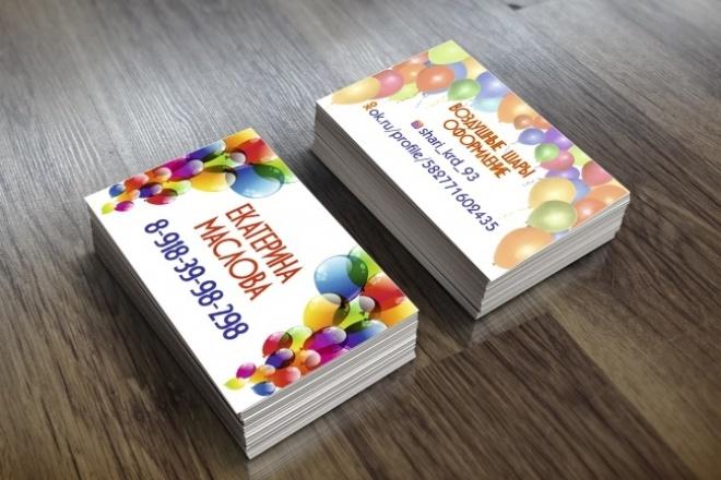 Нарисую качественную визиткуВизитки<br>Сделаю качественны дизайн визитки для Вас. Дорабатываю и вношу правки до полного удовлетворения Ваших потребностей. В течении суток Вы получите уже готовый дизайн визитки.Опыт работы в сфере графического дизайна более 3-х лет. Отправлю макет в любом формате. Жду Ваших заказов!<br>
